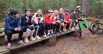 Mountainbike clinics in Schoorl voor bedrijven